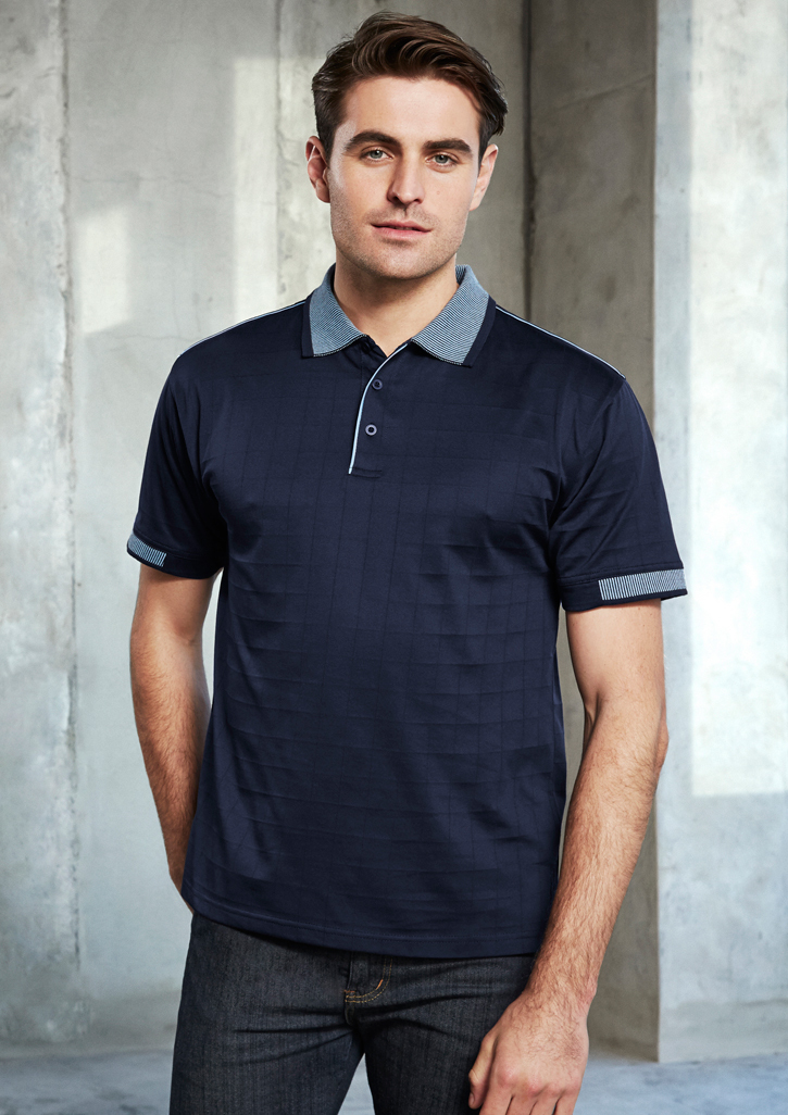 Noosa Self Check Mens Polo