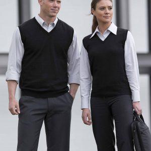 Merino Fully Fashioned Vest - Mens
