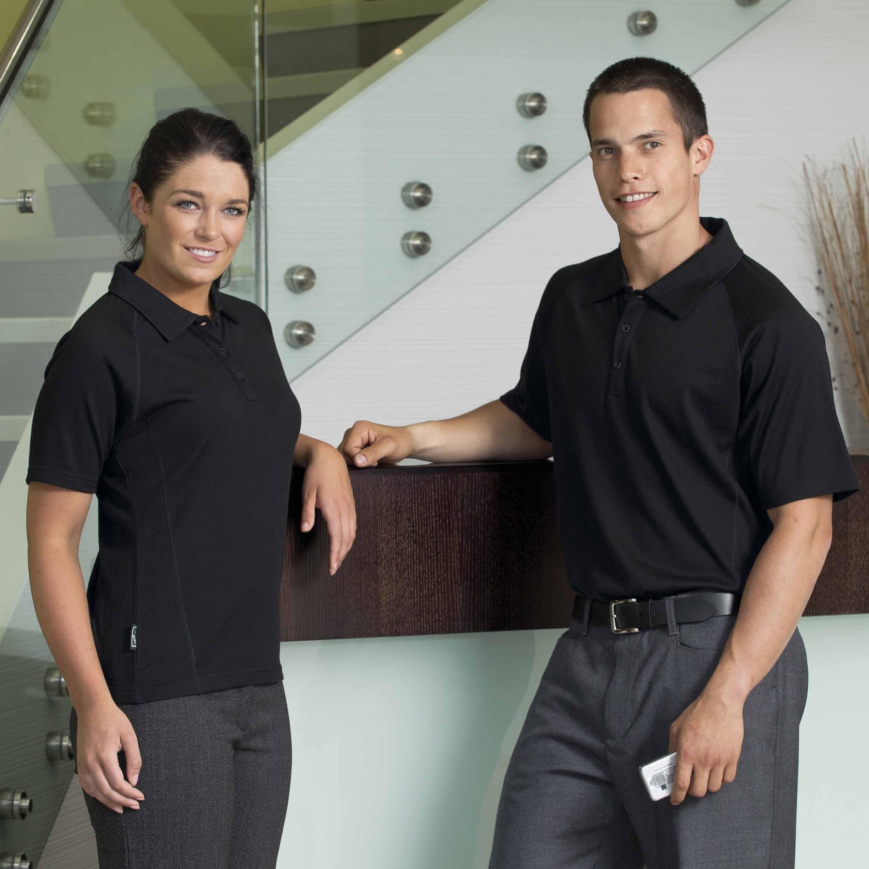 Merino Short Sleeve Polo - Womens