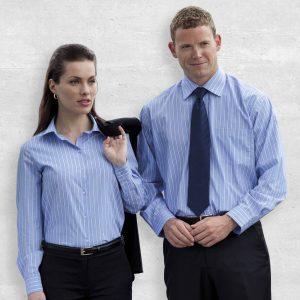 The Euro Corporate Stripe Shirt - Womens