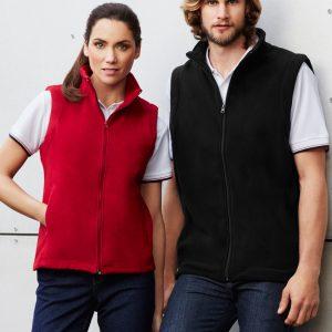 Plain Microfleece Mens Vest