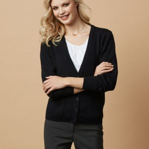 Woolmix Ladies Cardigan