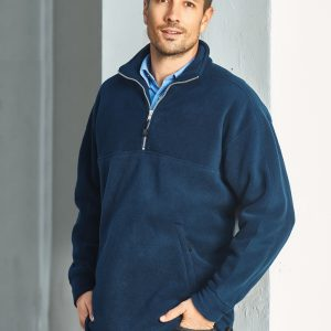 Heavy Weight Mens ½ Zip Winter Fleece