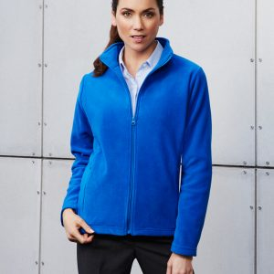 Plain Microfleece Ladies Jacket