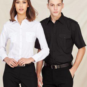 Eppaulette Mens S/S Shirt