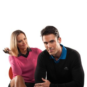 SPORTE LEISURE Men's V-Neck Jumper