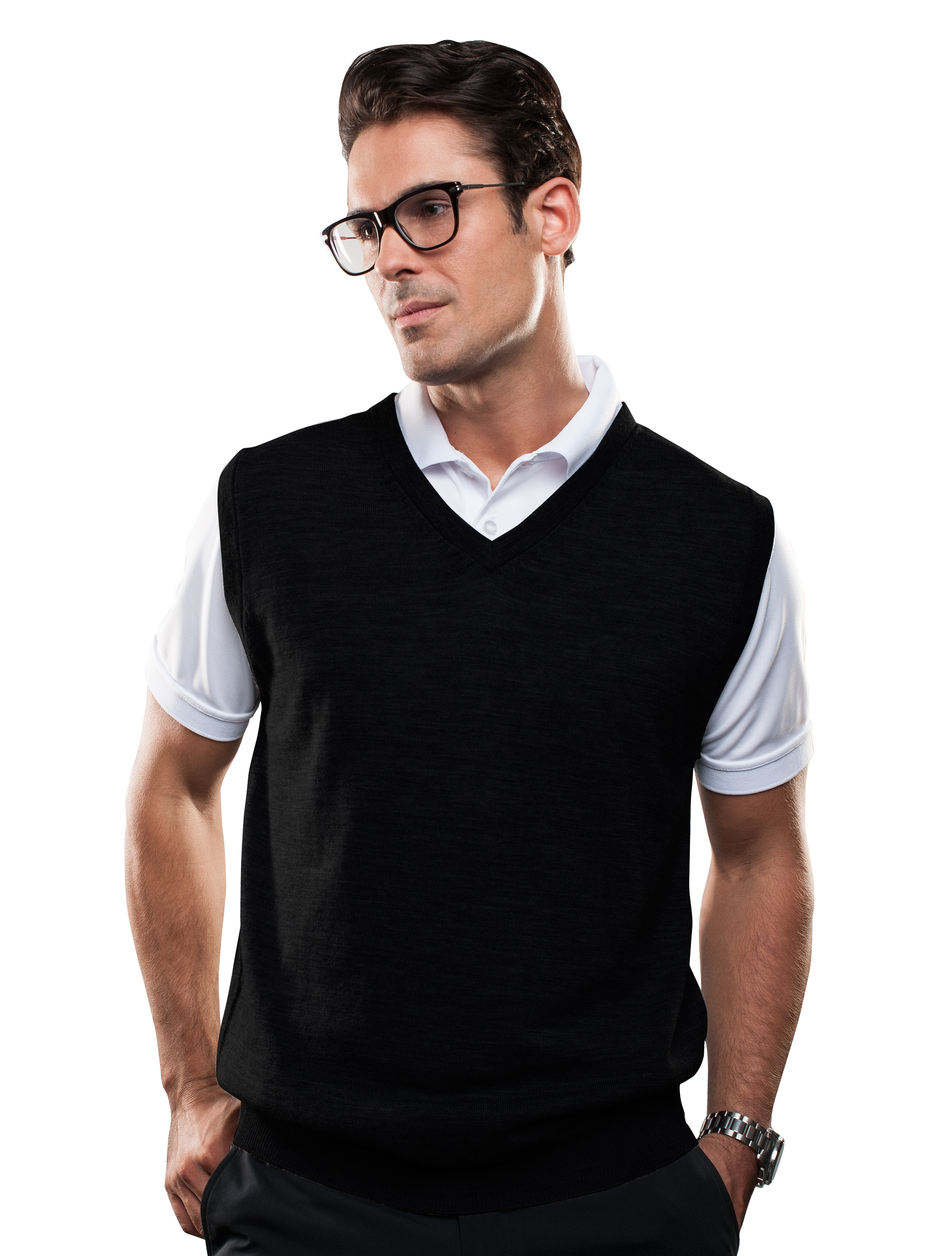 SPORTE LEISURE Men's V-Neck Vest