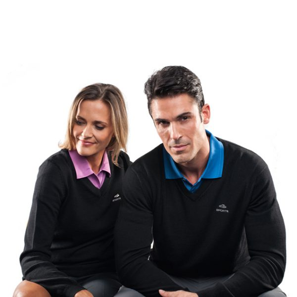 SPORTE LEISURE Ladies V-Neck Jumper