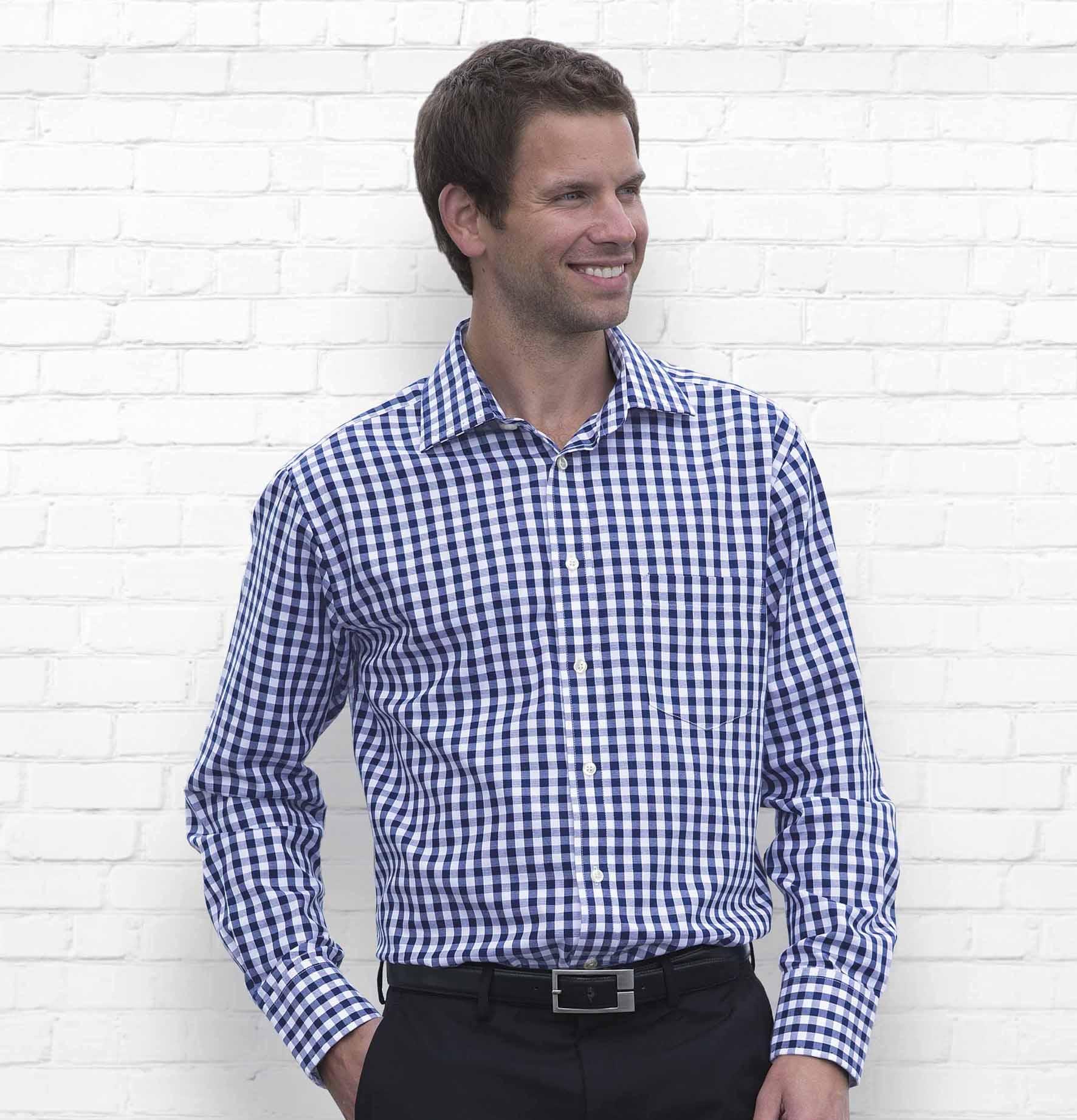 The Hartley Check Shirt - Mens