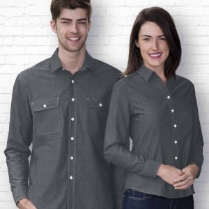 The Montreal Chambray Shirt - Womens