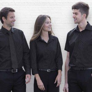 The Omega Stripe Long Sleeve Shirt - Mens