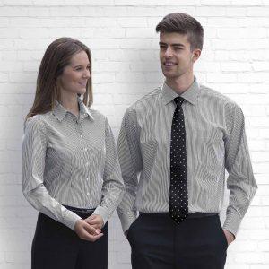 The Wynyard Stripe Shirt - Mens