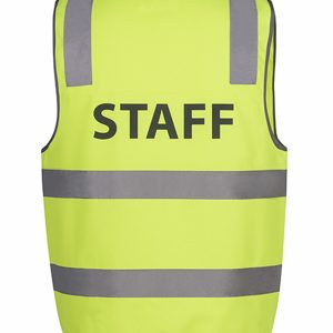 JB'S HI VIS D+N SAFETY VEST STAFF