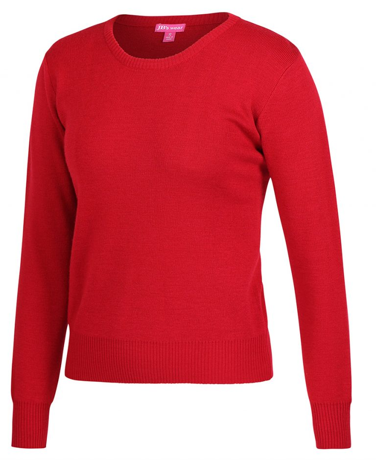 JB's LADIES CREW NECK JUMPER