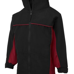 PODIUM KIDS CONTRAST WARM UP JACKET