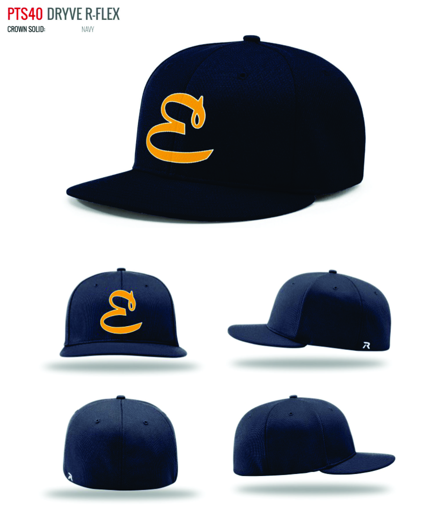 9188ffba0fb FITTED PLAYER CAP - PTS-40 - RETAIL